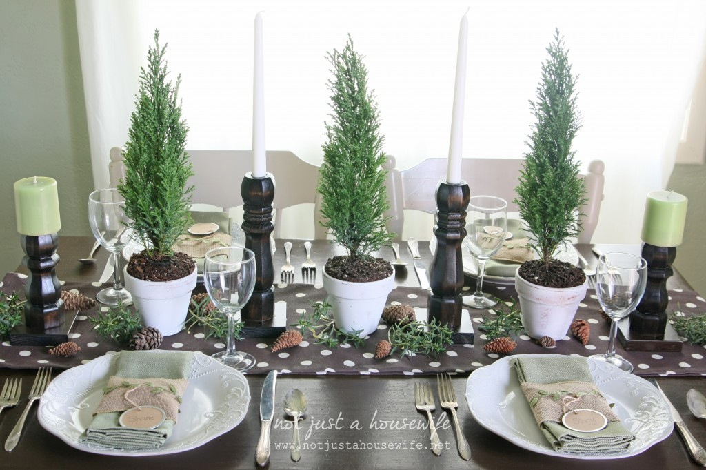 christmas table5 1024x682 Christmas Tablescape