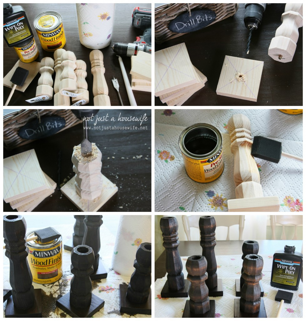diy candlestick instructions