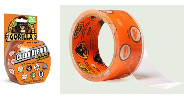 gorilla clear tape