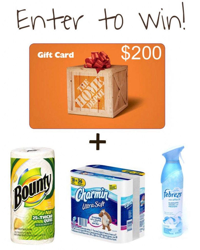 PG and HD prize pack 819x1024 The Junk Cabinet {and a Home Depot Gift Card Giveaway!!!}