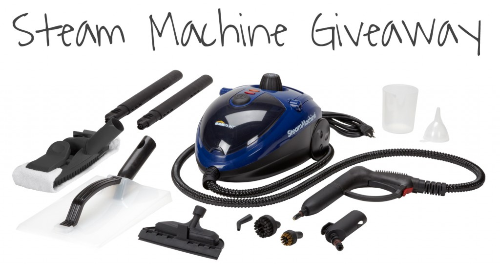 SteamMachine included in box1 1024x540 Deep Cleaning Tips & Giveaway!