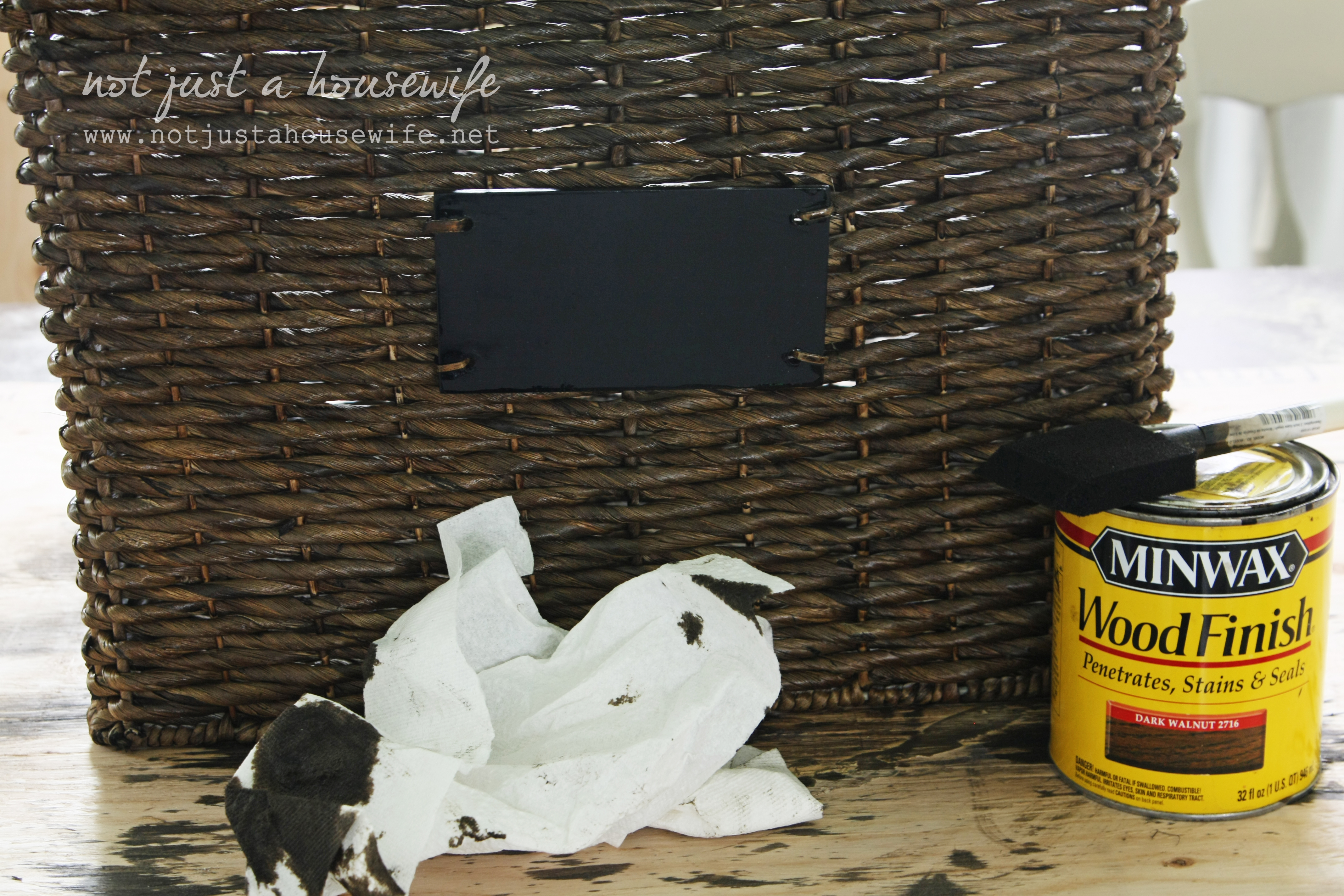 How To Stain A Basket Stacy Risenmay