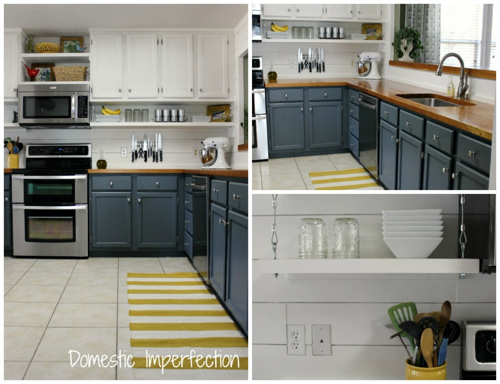kitchen shelves 1024x786 Top 10 Projects! {VOTE for Your Favorite}