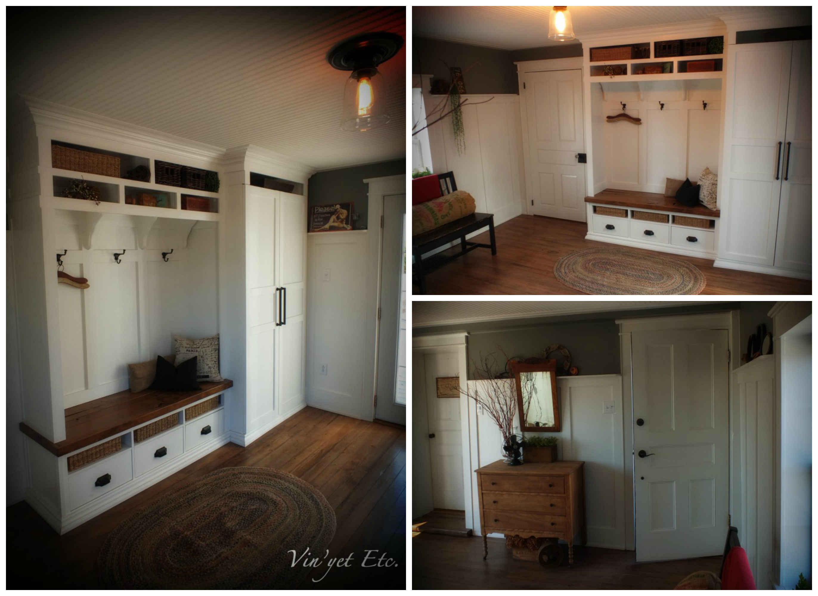 Top 10 projects vote for your favorite not just a for Mudroom pantry