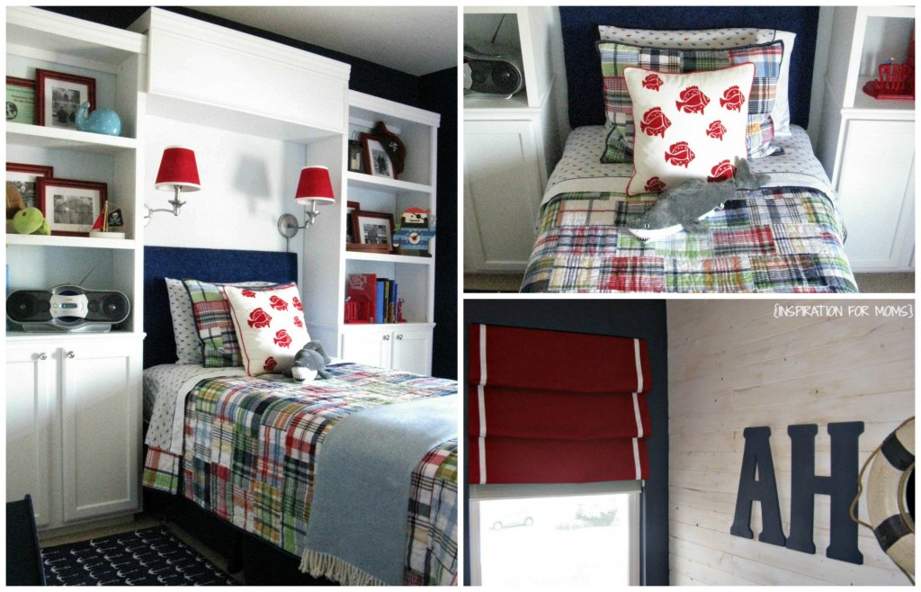 nautical bedroom 1024x658 Top 10 Projects! {VOTE for Your Favorite}