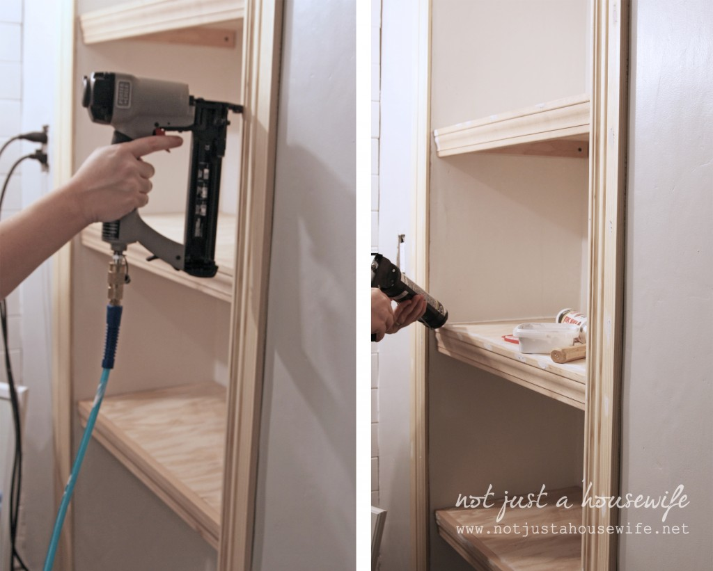 steps 1024x821 Bathroom Shelves!