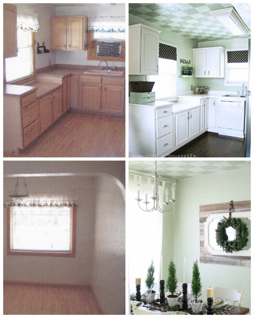 kitchen before and after 819x1024 The Evolution of Our House