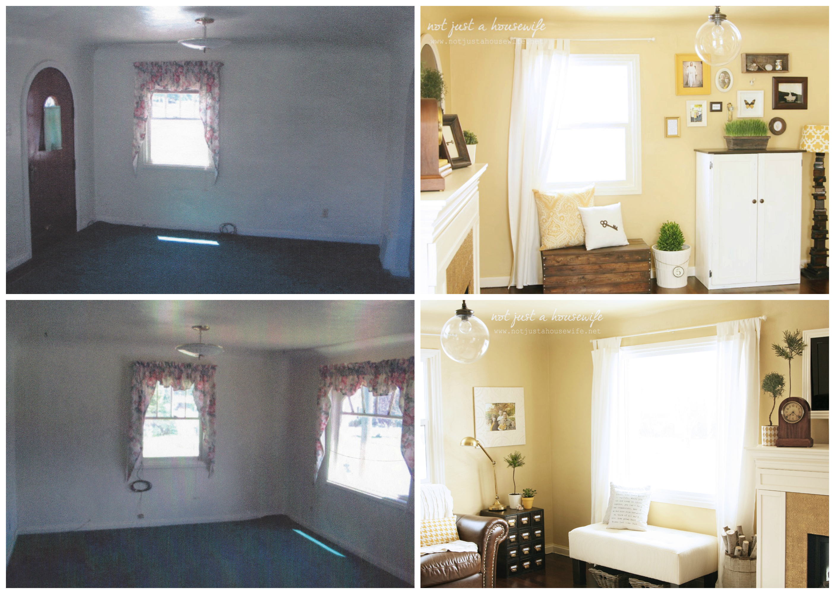 before after living room the evolution of our house risenmay 14436
