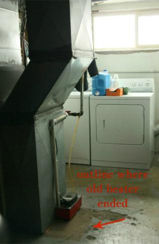 replacing furnace