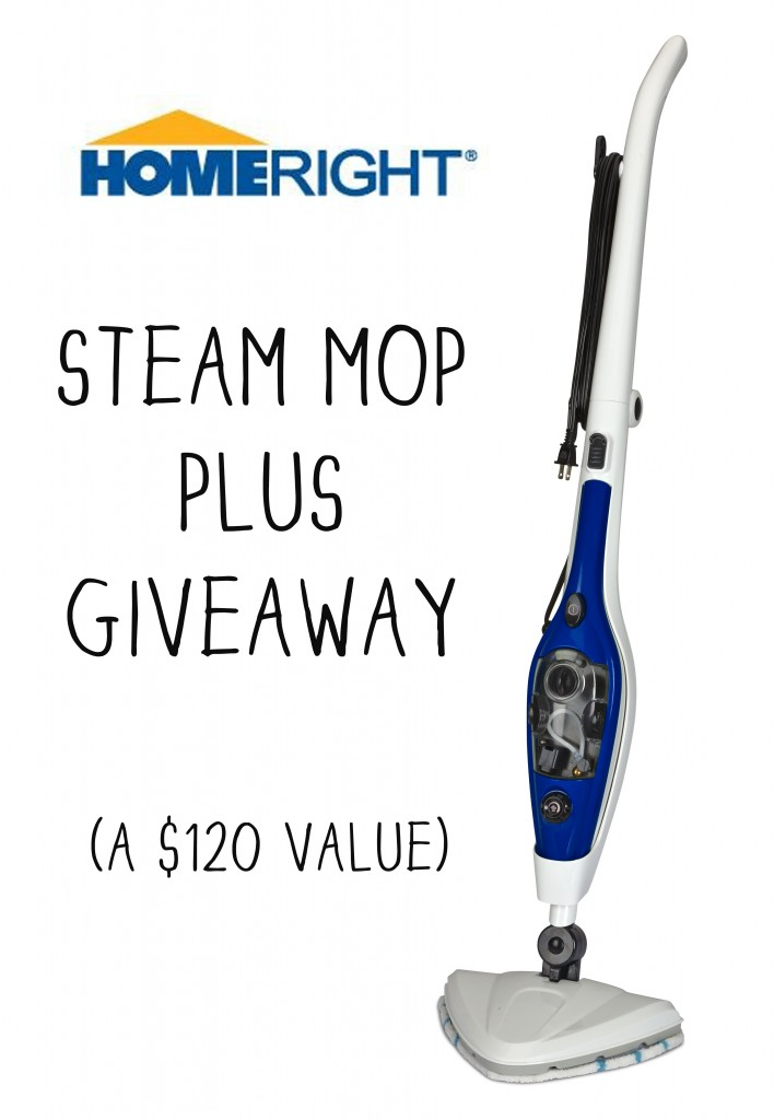 steam mop giveaway