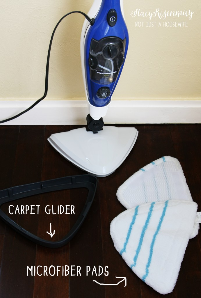 steam mop plus pads