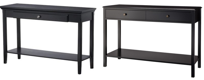 black console table edited 1 More Or Less {American Dream Builders} Episode #2