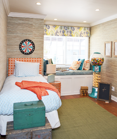 Kid's room from American Dream Builders with Nate Berkus