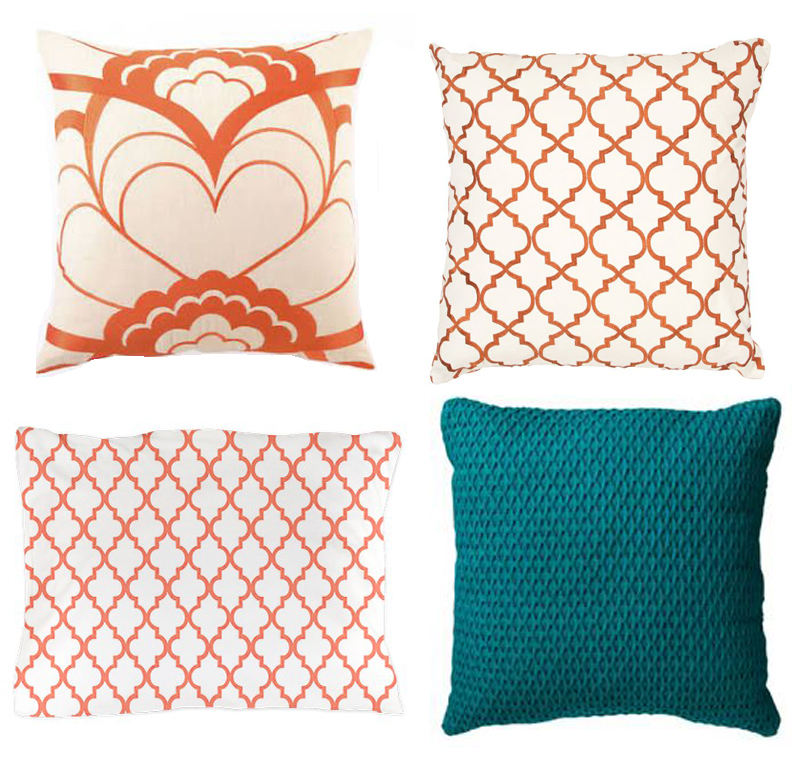 pillows in kid room