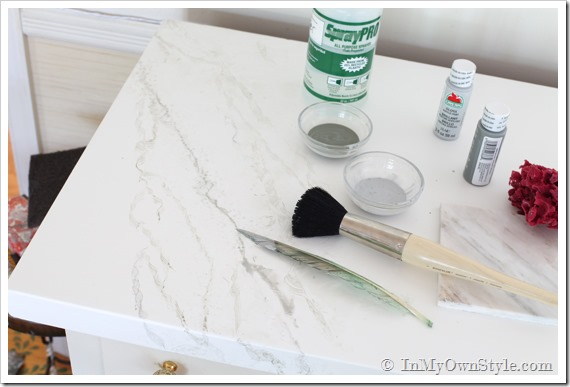 Carrara Marble painting thumb More Or Less {American Dream Builders} Episode #7