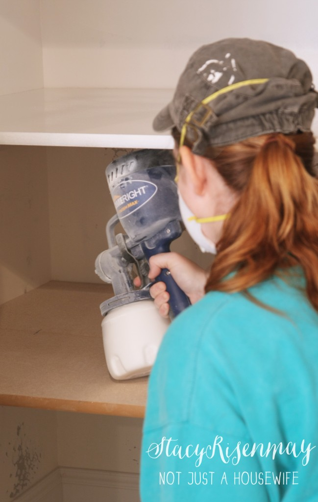 HomeRight Finish Max Review 649x1024 {Painting a basement} Finish Max Sprayer Giveaway!
