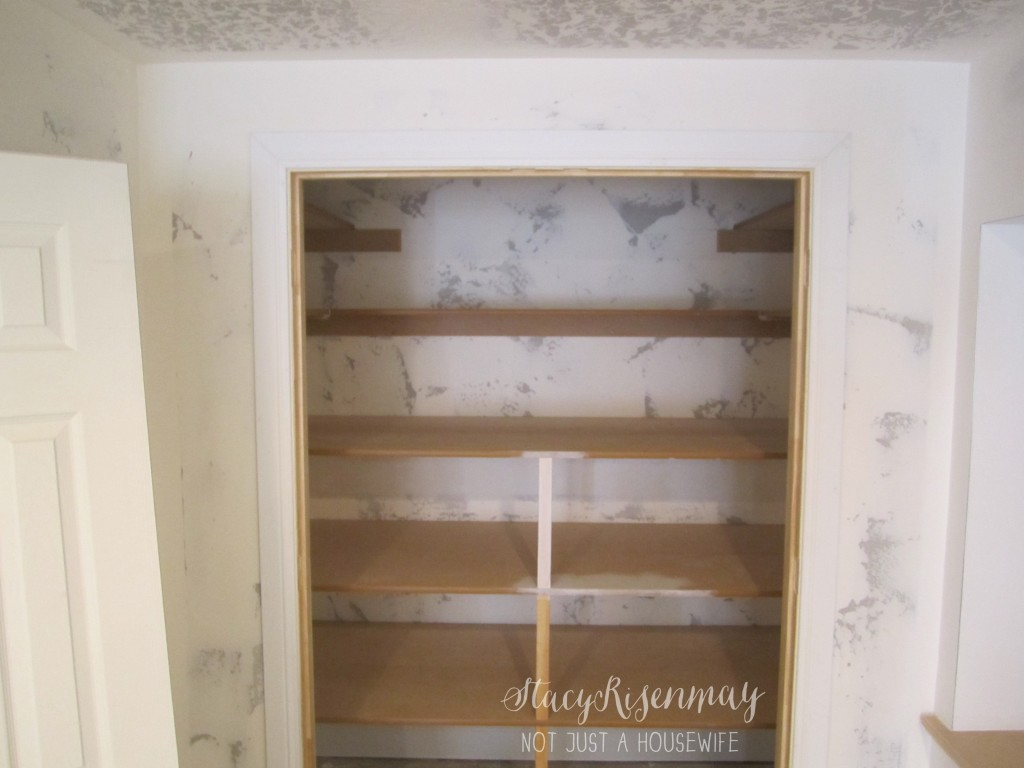 closet before 1024x768 {Painting a basement} Finish Max Sprayer Giveaway!