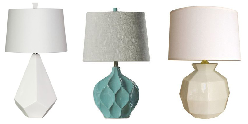 faceted lamps