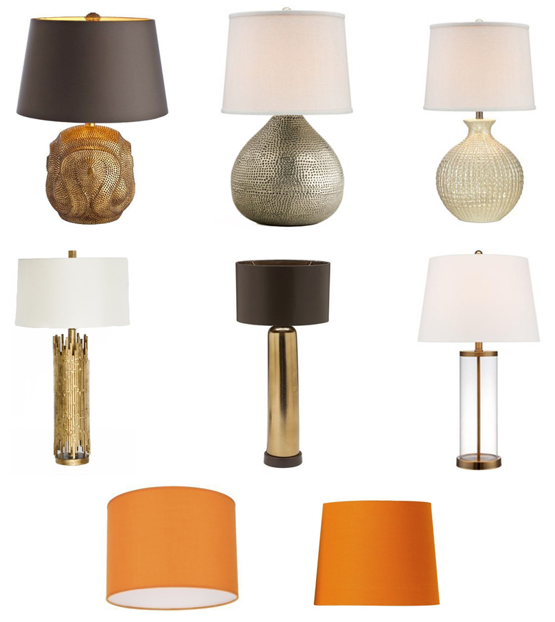 gold lamp options