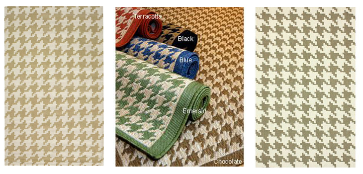 houndstooth rugs