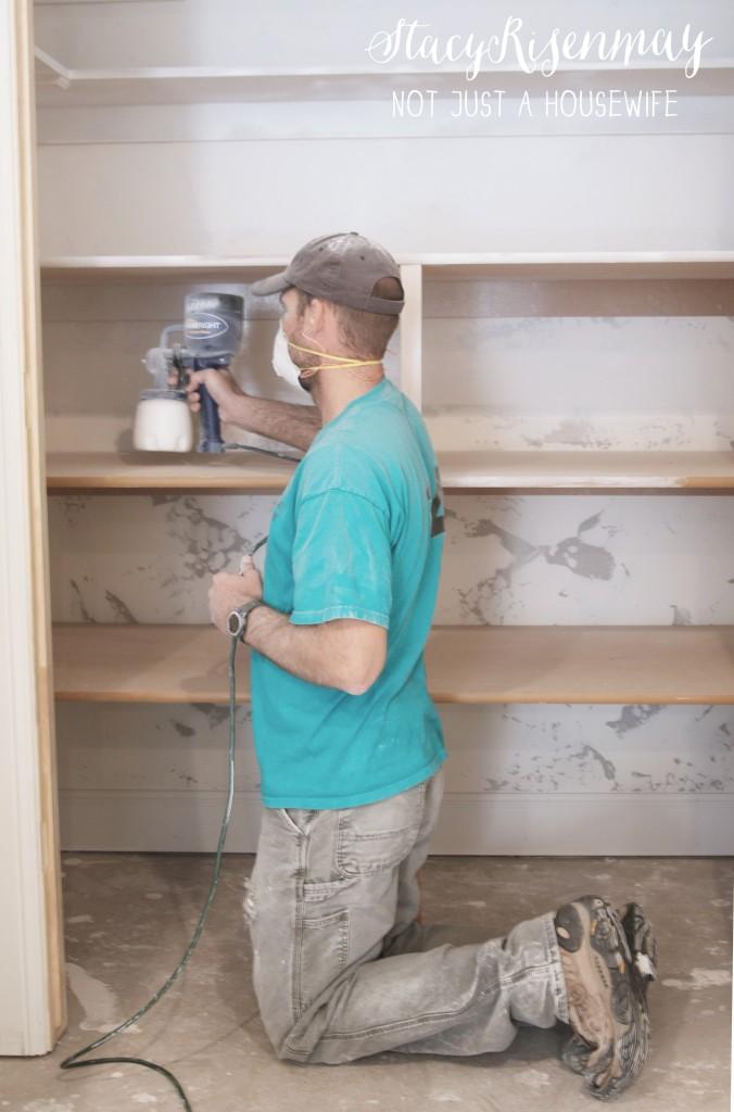 painting closet