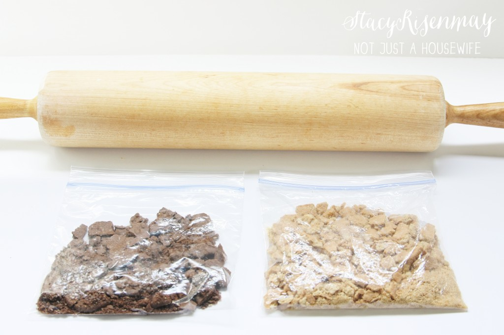 rolling crackers for crust