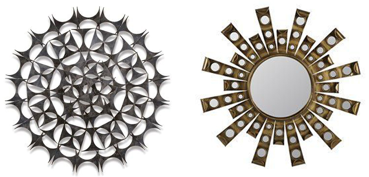 round metal artwork
