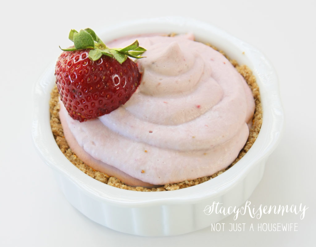 strawberry coconut milk mousse