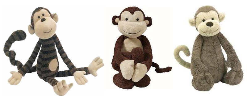 stuffed animal monkey