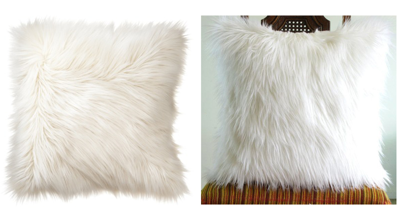 white fur pillow More or Less {American Dream Builders} Episode #3
