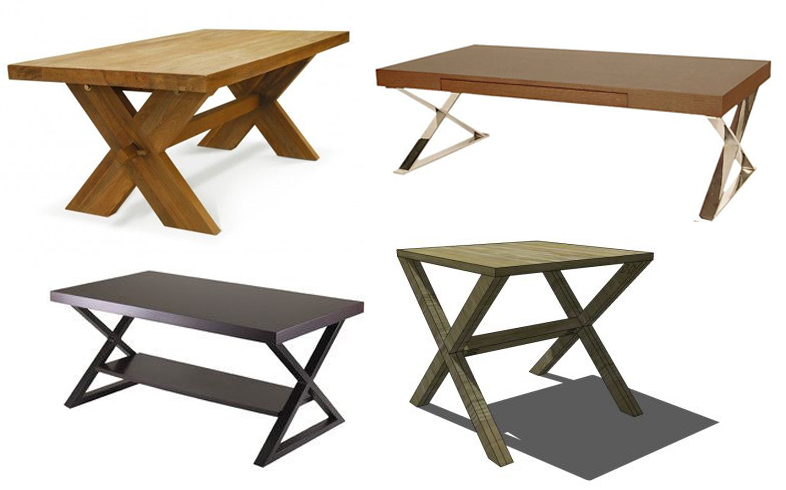 crossed leg coffee tables More Or Less {American Dream Builders} Finale!