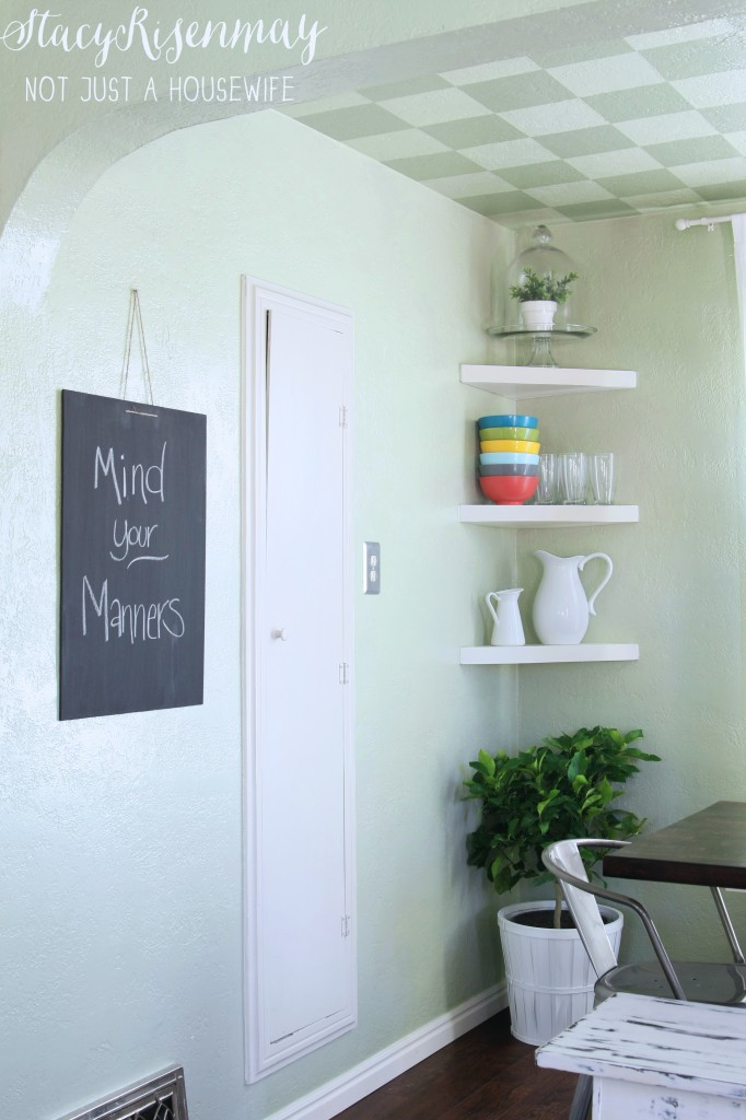"dining room chalk board ""mind your manners"""
