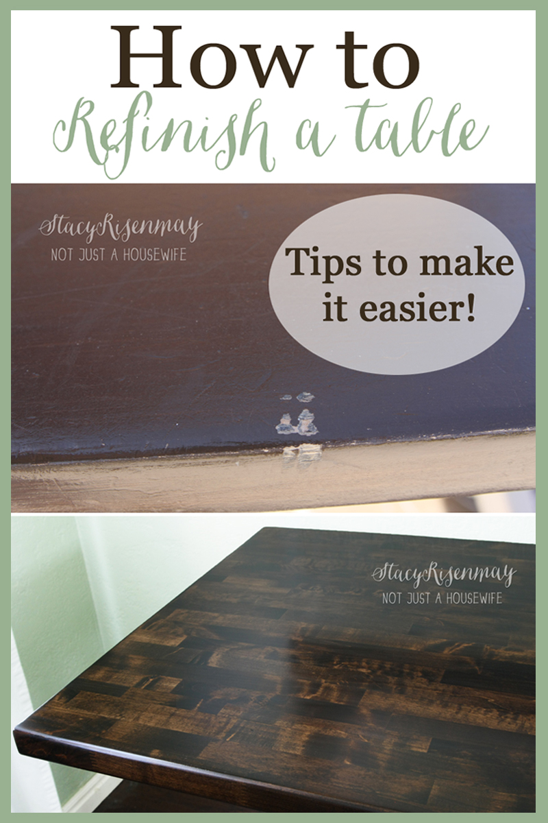 How to refinish a