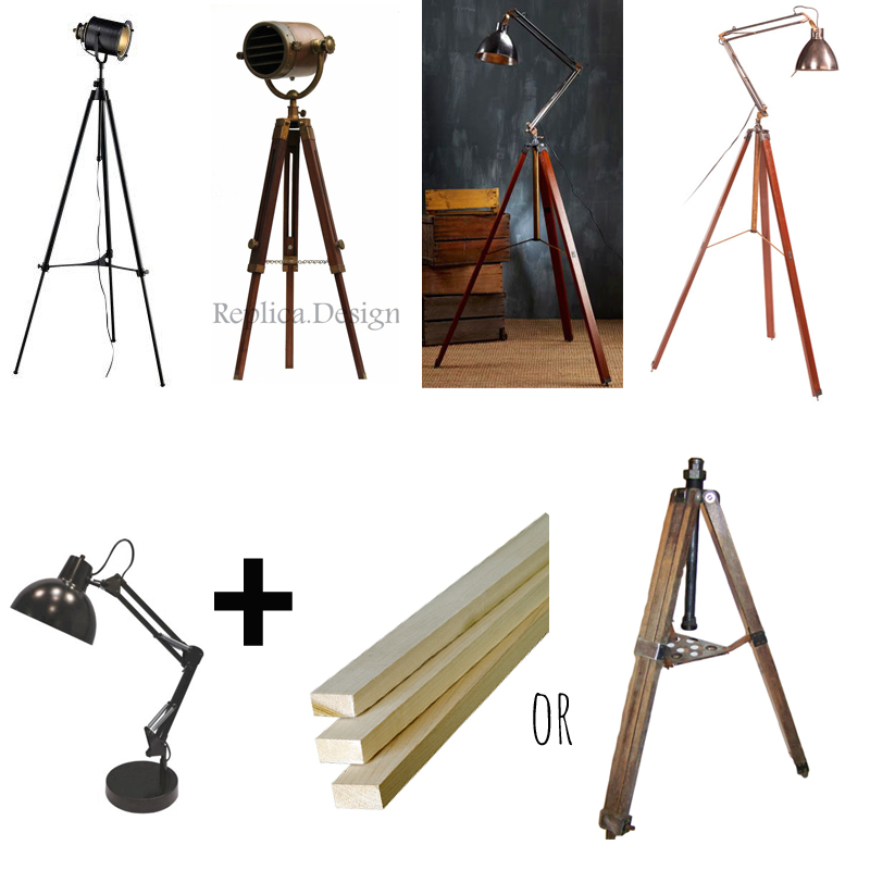 tripod lamps More Or Less {American Dream Builders} Episode #8