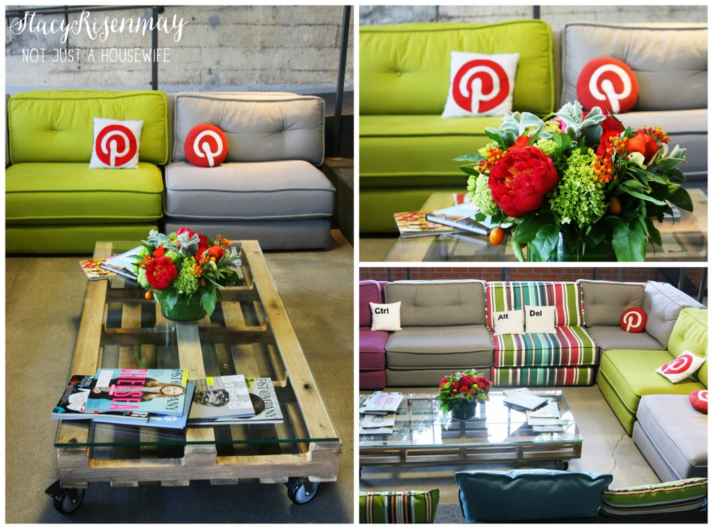pinterest reception area
