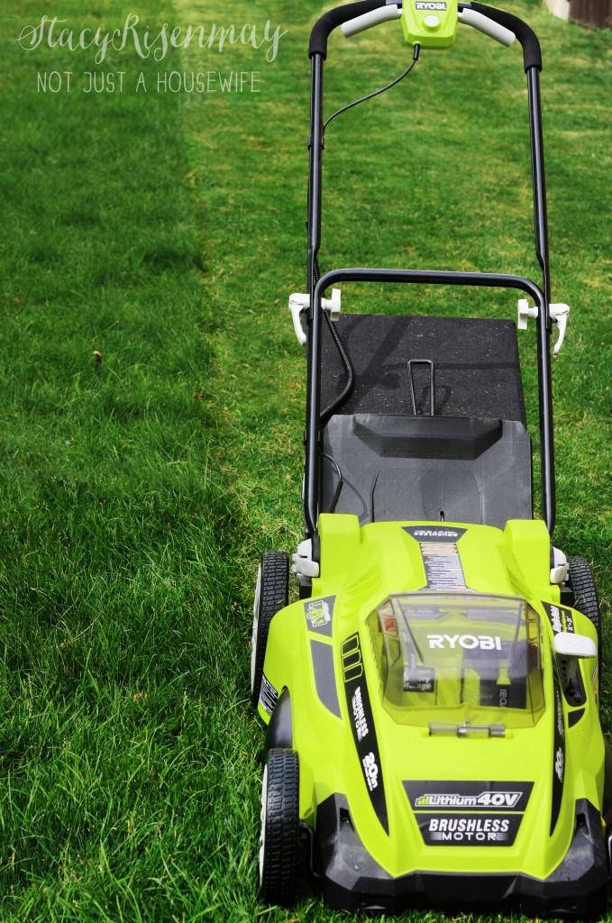 20inch ryobi lawn mower