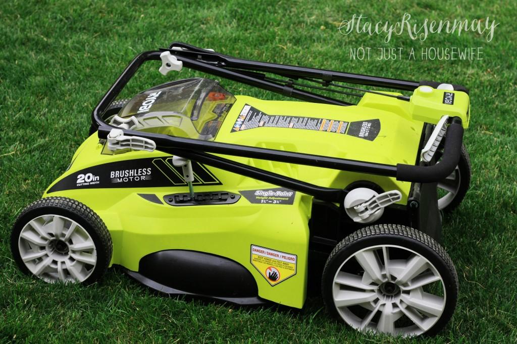 Ryobi brushless 40V lawn mower