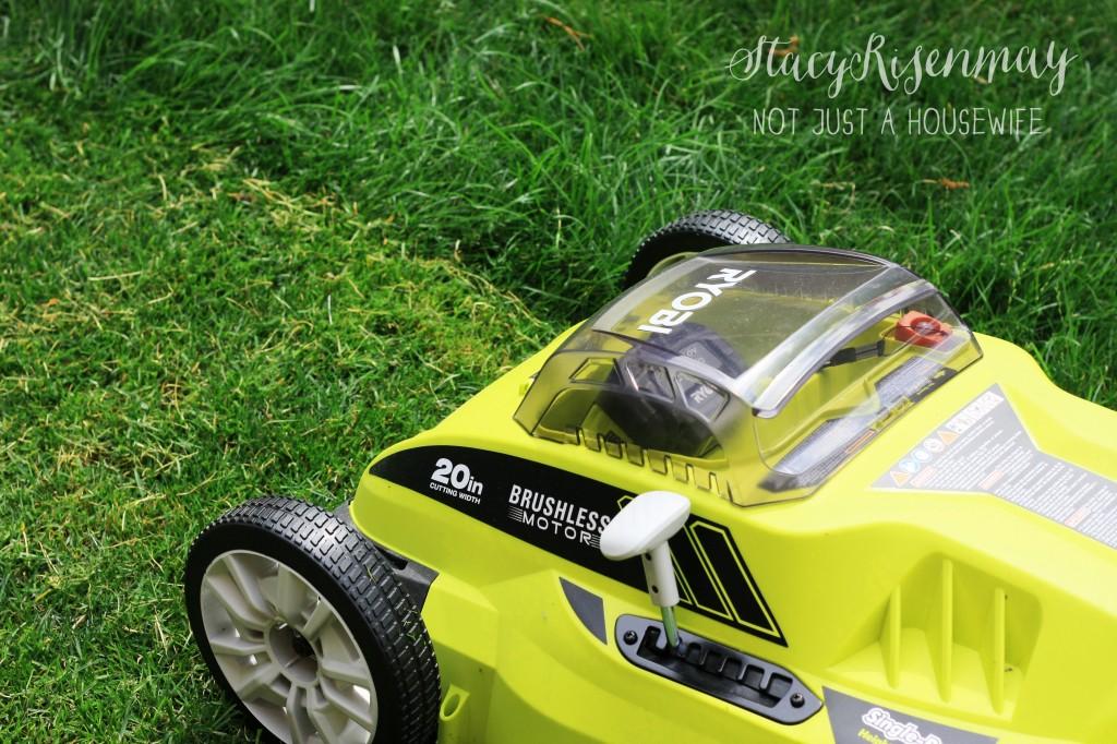 Ryobi brushless 40V mower