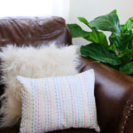 Pick Stitch Pillow