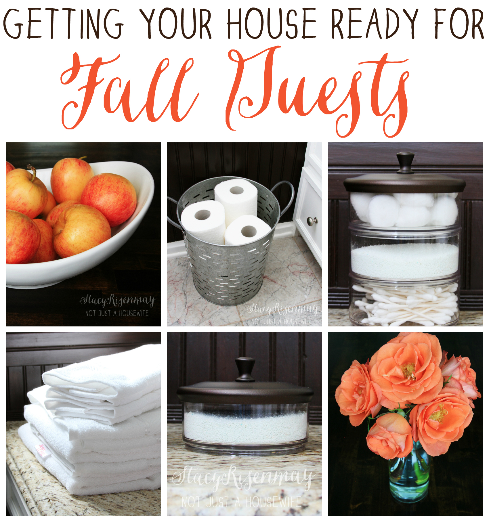 Getting your house ready for fall guests not just a for Getting ready for fall