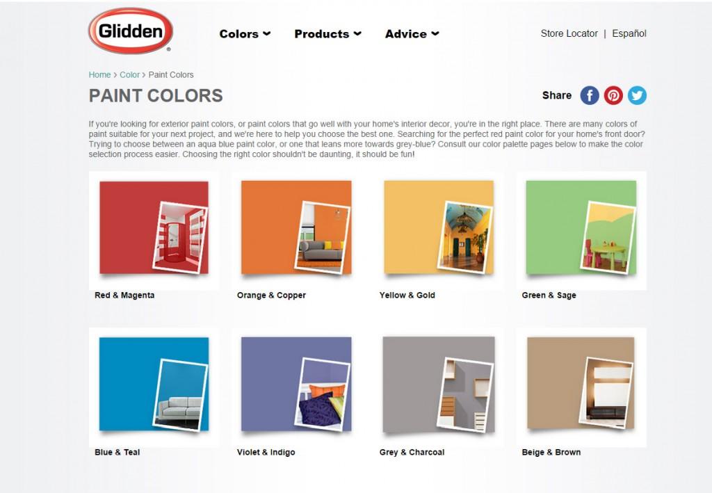 glidden colors