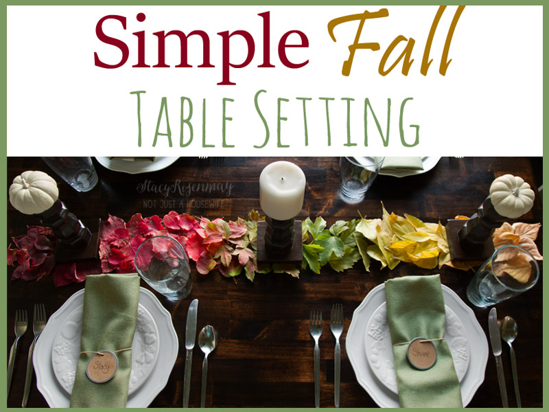 fall tablescape BHG