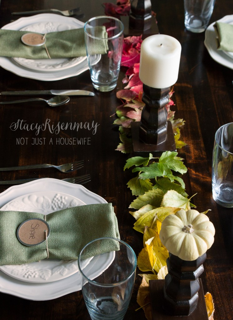 table setting fall