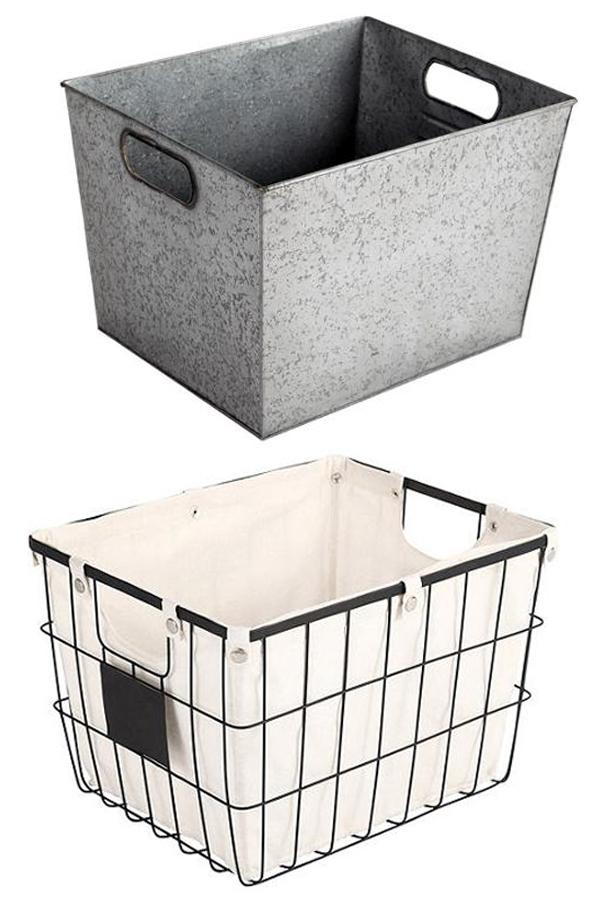 BHG baskets and bins