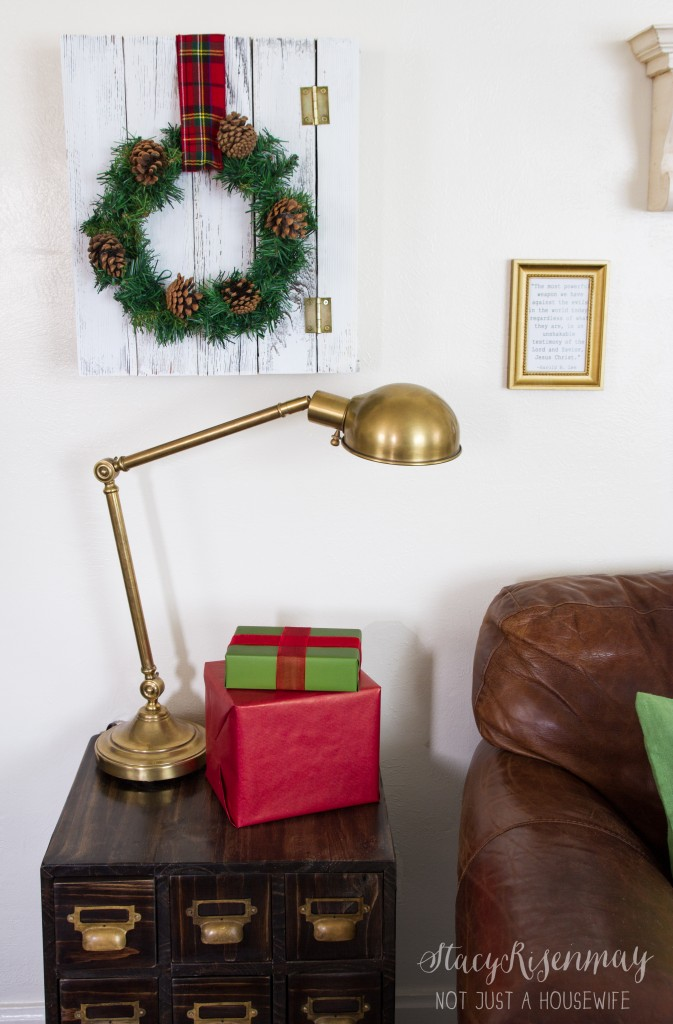 christmas side table