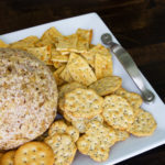 Pineapple Cheese Ball & A Simple DIY Serving Tray
