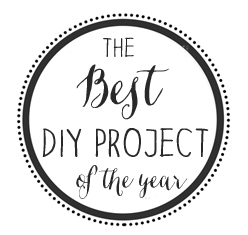best DIY of the year button Best DIY Project Of The Year Contest!