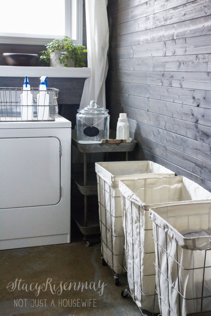 Organizing my laundry room stacy risenmay - Craft area for small spaces property ...