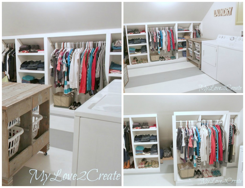 my love 2 create laundry room