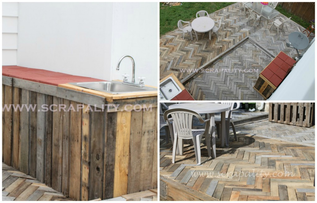 scrapality pallet deck